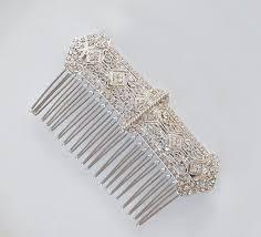 vintage comb deco hair comb wedding hair comb vintage bridal comb