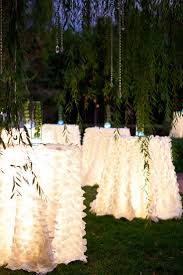 best 10 cocktail party decor ideas on pinterest outdoor perfect for a outside wedding lights under some high tops