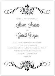 wedding invitations templates for invitation free template