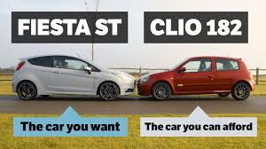 renault hatchback models ford fiesta st200 vs renault clio rs 182 trophy comparison makes