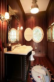 Two Tone Bathroom Splendid Two Tone Window Panels Decorating Ideas Images In