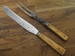 ebay kitchen knives antique sheffield bone handles razor sharp carbon steel carving