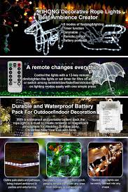 Unique Image Of Outdoor Timers by Amazon Com Led Lights Yihong Battery Operated String Lights