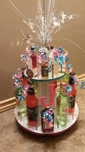 Liquor Bottle Cake Decorations 30th Birthday Mini Liquor Bottle Cake Birthday Ideas Pinterest