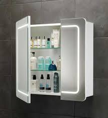 Fashionable Idea Mirrored Bathroom Storage Bathroom Mirror With - Bathroom cabinet mirrored