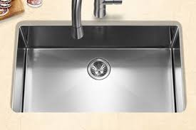 Single Kitchen Sinks by Houzer Stainless Steel Zero U0026 Small Radius Kitchen Sinks