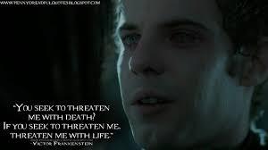 Seeking Frankenstein Victorfrankenstein It Is Easy Being Monsters Let Us Try To