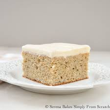 banana cake with cream cheese frosting serena bakes simply from