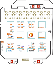 Exhibit Floor Plan Exhibit Hall Percona Live Mysql Conference 2015