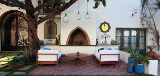 Patio Furniture Lighting Outdoor Decorating Ideas 2014 Eclectic Patio Seating Set