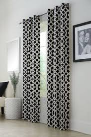 Moroccan Print Curtains Amazon Com Best Home Fashion Moroccan Print Velvet Curtains