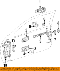 lexus sc300 parts diagram lexus toyota oem 92 00 sc300 door hinge assembly left 6872024031