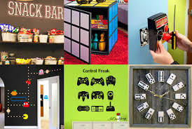 Retro Game Room Decor Bedroom Winning Our Favorite Pins The Week Game Room Decor