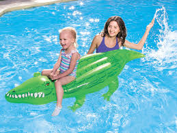 inflatable toy crocodile 168 x 89cm bestway 41010 swimming pools