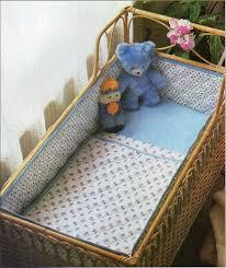 Baby Moses Basket Bedding Set Baby Bedding Set Bumper Sewing Pattern Pdf Crib Moses