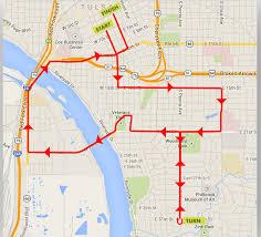 Run Map Tulsa Run U2013 Proactiveoutside