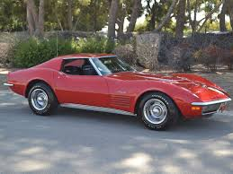 1972 corvette stingray value sold 1971 corvette lt 1 coupe 350 330hp 4 spd for sale by