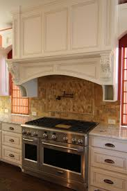 kitchen red window color beside big custom kitchen hoods closed