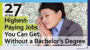 10 Highest Paid Jobs You 27 Of The Highest Paying Jobs Without A 4 Year Degree 2016