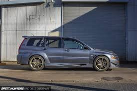 mitsubishi evo custom the wangan wagon speedhunters