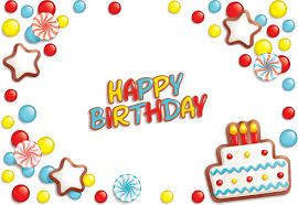 best happy birthday design elements vector set 02 u2013 over millions