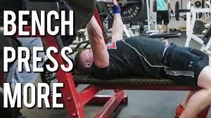 how to bench press more weight for a bigger chest youtube