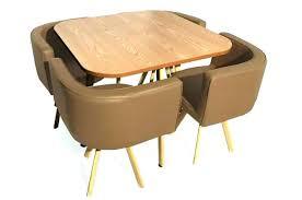table avec chaise encastrable table de cuisine avec chaise encastrable table de cuisine avec
