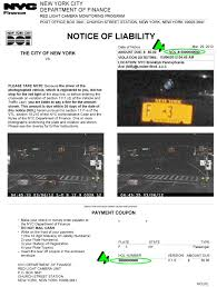 pay red light ticket nyc sle