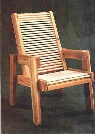 Free Wood Outdoor Chair Plans by Patio Lawn Chair Woodworking Plans Wood Plan