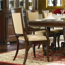 Louis Philippe Dining Room Bassett Louis Philippe Dining Arm Chair With Fabric Ahfa