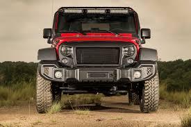jeep liberty light bar modular bumper