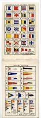 International Code Flags Visual Codes Brown U0027s Signal Reminder C1920 International Code