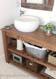 Spa Bathroom Furniture - handmade solid oak bathroom vanity unit washstand rustic