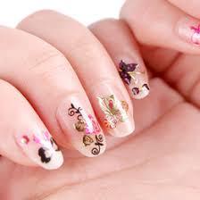 discount nail art flowers butterfly 2017 nail art flowers
