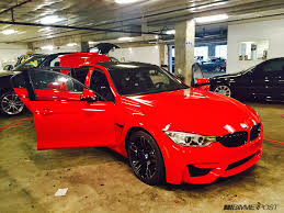 Bmw M3 Colour Individual Ferrari Red F80 M3 More Photo Added