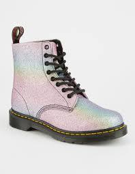 womens boots dr martens dr martens rainbow glitter pascal womens boots 304652957 boots