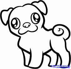 how to draw a pug for kids step by step animals for kids for