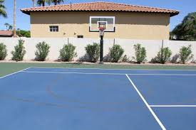 if you have a tennis court then you can always add a basketball