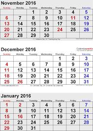 printable december 2016 calendar pdf december 2016 and january 2016 printable calendars blank calendar