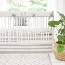 woodland crib bedding gray crib bedding forest baby bedding