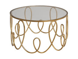 uttermost accent furniture gold coffee table becker