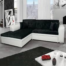 d co canap noir dco canap noir affordable canap noir et blanc design with canap