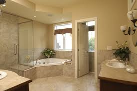 corner tub shower combo bathroom traditional with bungalow corner