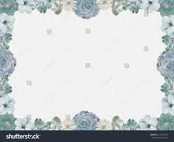 vintage pastel colored flower frame on stock illustration
