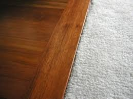 transitions between carpet to tile or wood flooring great home