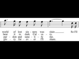 the old rugged cross tenor only learn how to sing hymns youtube