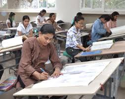 Interior Designer Colleges by Interior Design Sdps Women U0027s College Indore