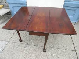 chippendale mahogany dining table new england circa 1770 42 u201dx49
