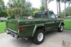 amc jeep j10 jeep j10 short bed pickup 360 v8 4x4 auto air frame off restored