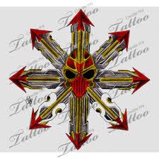 marketplace tattoo chaos star 3063 createmytattoo com tattoo